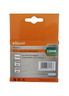 Купить Скобы для степлера Sturm 12мм, тип 53 1071-02-12