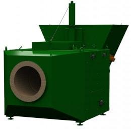 Теплогенератор на топливе агроотходах ТПГ 3000
