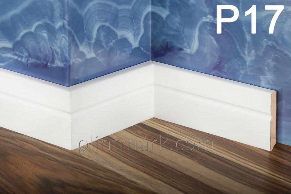 Плінтус Modern-Loft. висотою 80 мм, товщиною 12 мм
