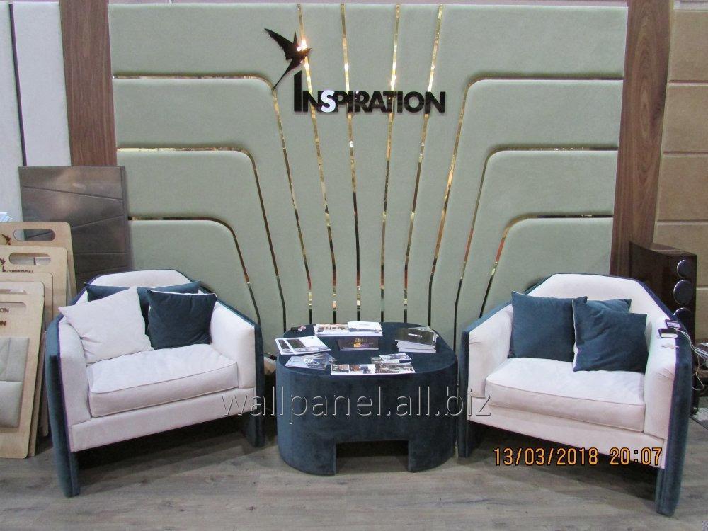 Комплект уникальной мягкой мебелью с индивидуальным дизайном