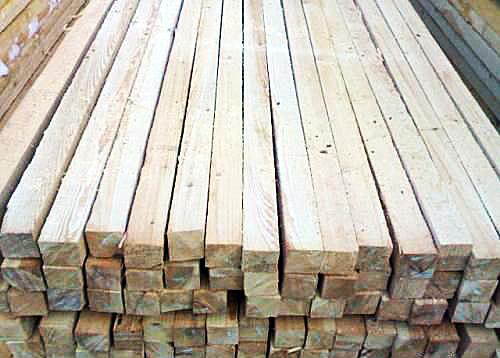 Брусок монтажный деревянный 40х60, рейка сосна | Киев