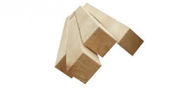 Брусок монтажный деревянный 50х60 сухой сосновый