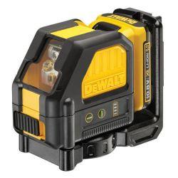 Купить Лазер линейный 2-х плоскостной DeWALT DCE088D1G