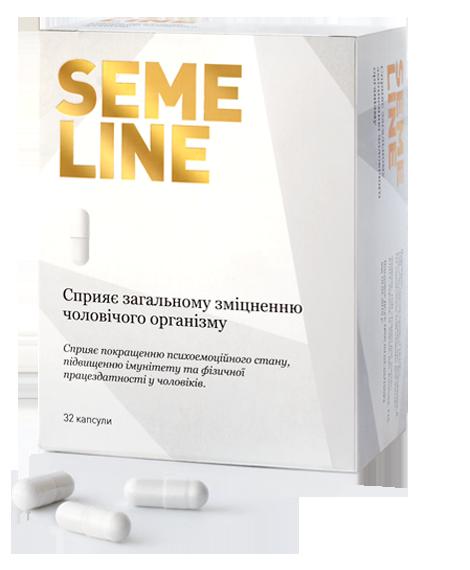 Купить Капсулы от простатита SEMELINE (Семилайн)