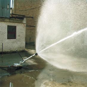 Купить Ствол переносной лафетный с водяной защитной завесой СЛК-П20А ТУ У 29.2-26287312-015-2004, исп.1