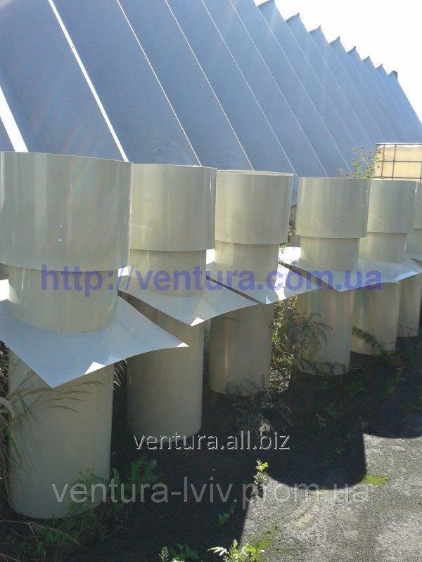 Купить Вытяжная вентиляционная шахта для животноводческих комплексов