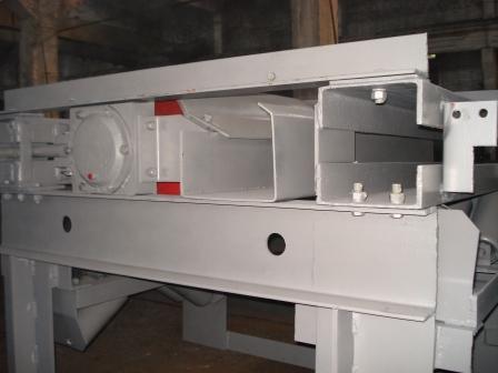 разгрузочная станция ленточного конвейера