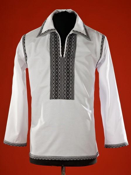 Сорочки-вышиванки, Мужская рубашка-вышиванка ЧС 21
