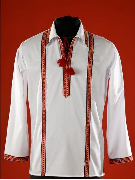 Сорочки-вышиванки, Мужская рубашка-вышиванка ЧС 20