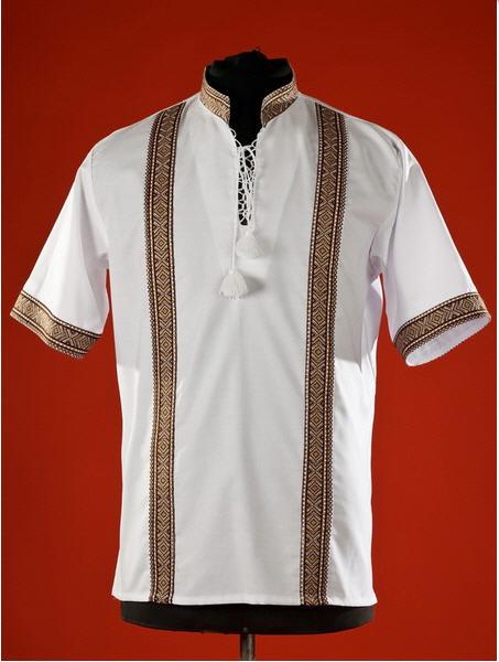 Сорочки-вышиванки, Мужская рубашка-вышиванка ЧС 17