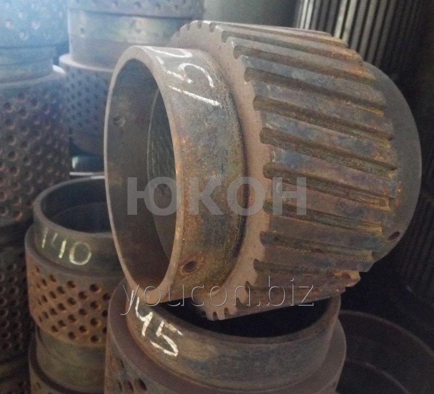 Обечайка 150\65 Нарезная для гранулятора ОГМ-0.8