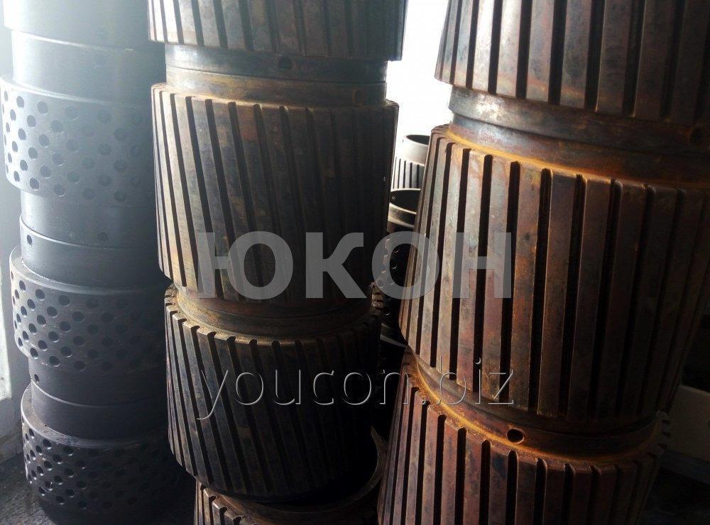 Обечайка 150\100 Нарезная для гранулятора ОГМ-0.8