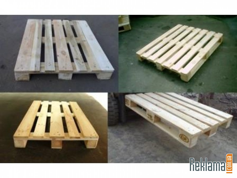 Pallets second-hand wooden sizes 1200/800