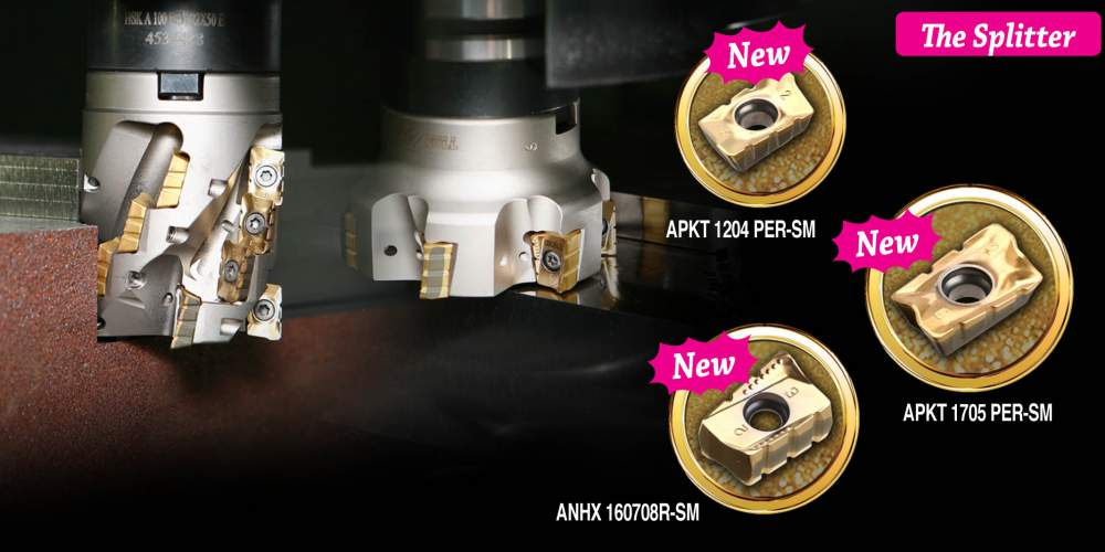 Buy New solutions of TaeguTec in draft milling