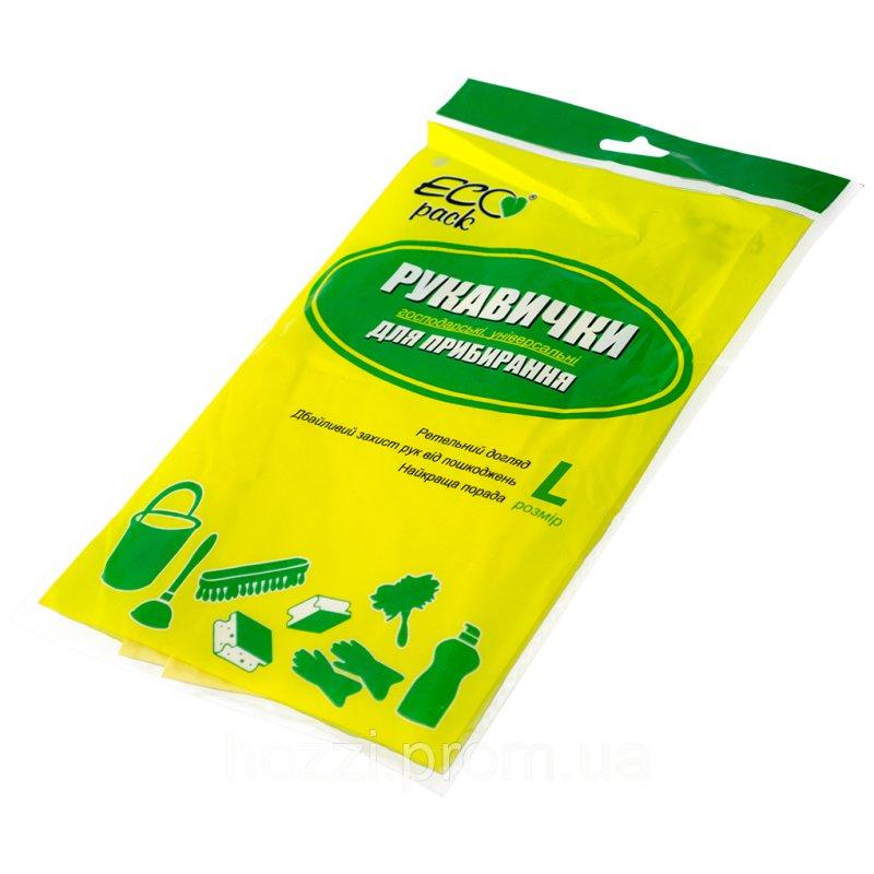 "Перчатки для уборки ТМ ""ECOpack"" размер L"