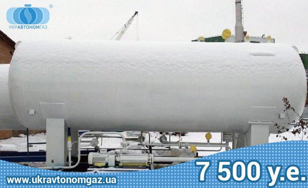 Газовая заправка 10 м3 Емкость Пропан-Бутан, Модуль АГЗП, АГЗС, цистерна LPG