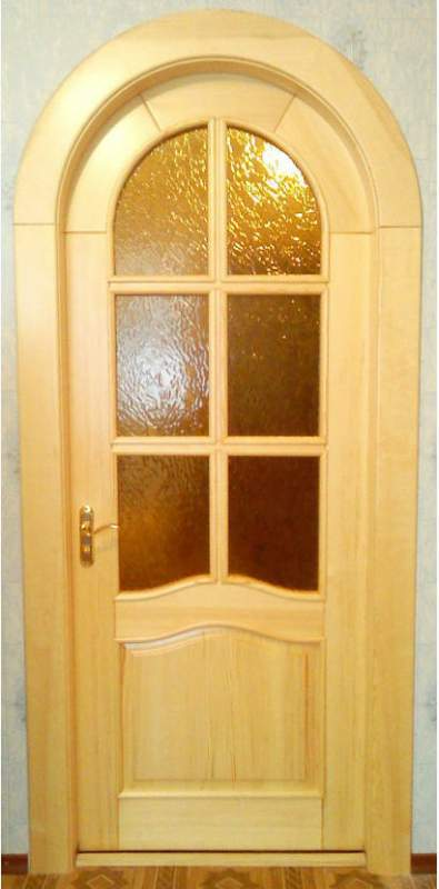 pobedpix.com / межкомнатная арочная дверь
