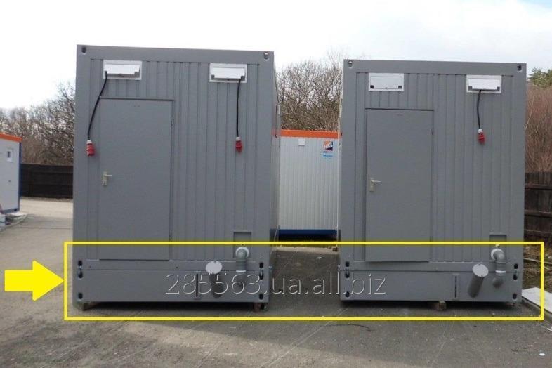 Купить Cептический бак емкость биотуалет санитарный контейнер. Cанитарный контейнер Containex