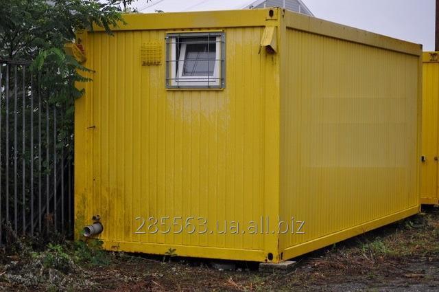 Купить Строительный контейнер с душевыми. Санитарный блок-контейнер с душем