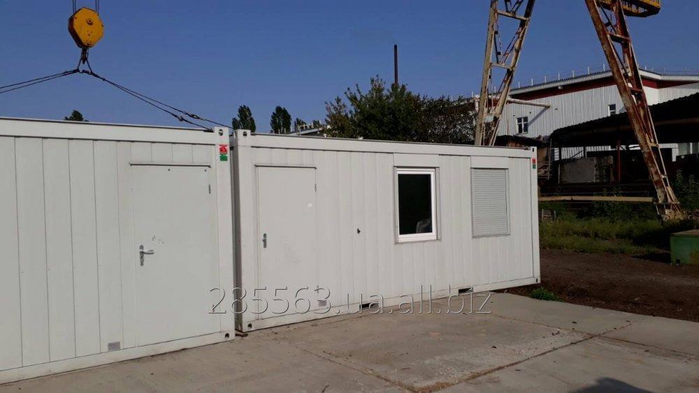 Купить Санитарный блок контейнер Containex с кухней и туалетом