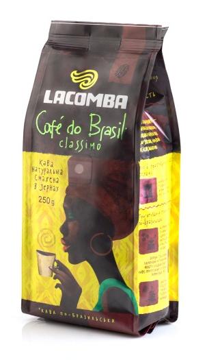 Купить Кофе в зернах Lacomba Classimo Beans, пакет 250 г