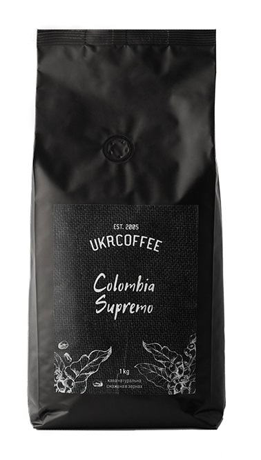 "Купить Кофе в зернах Арабика ""Colombia"" 1 кг (сорт Supremo Medellin)"