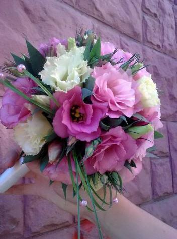фото свадебных цветов: