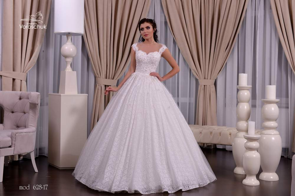 Wedding dress, model 628 (ballgown)
