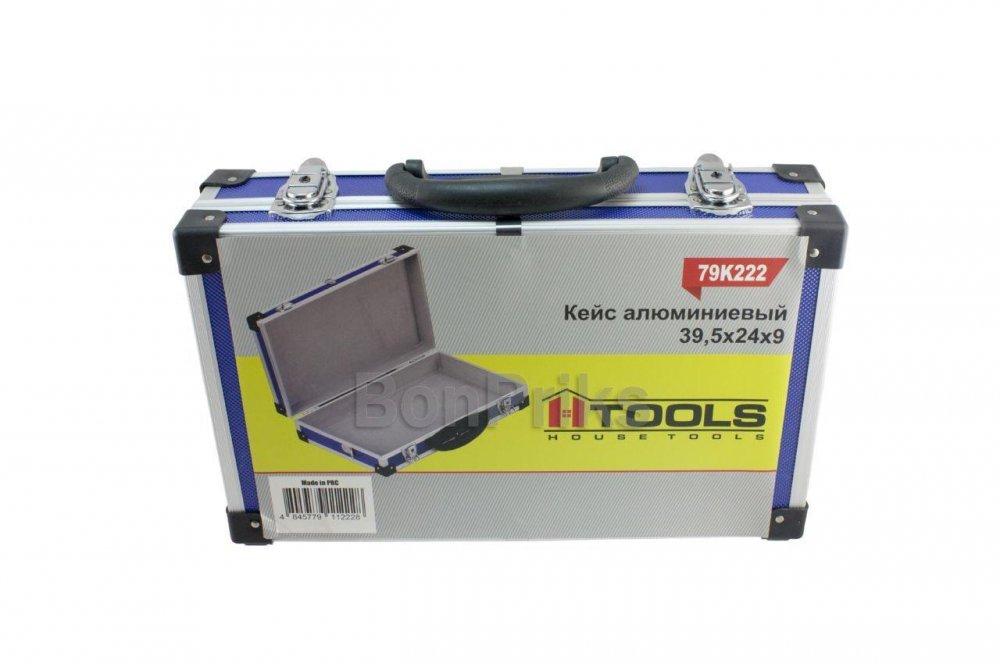 Купить Кейс для инструмента Housetools - 395 х 240 х 90 мм, алюминиевый