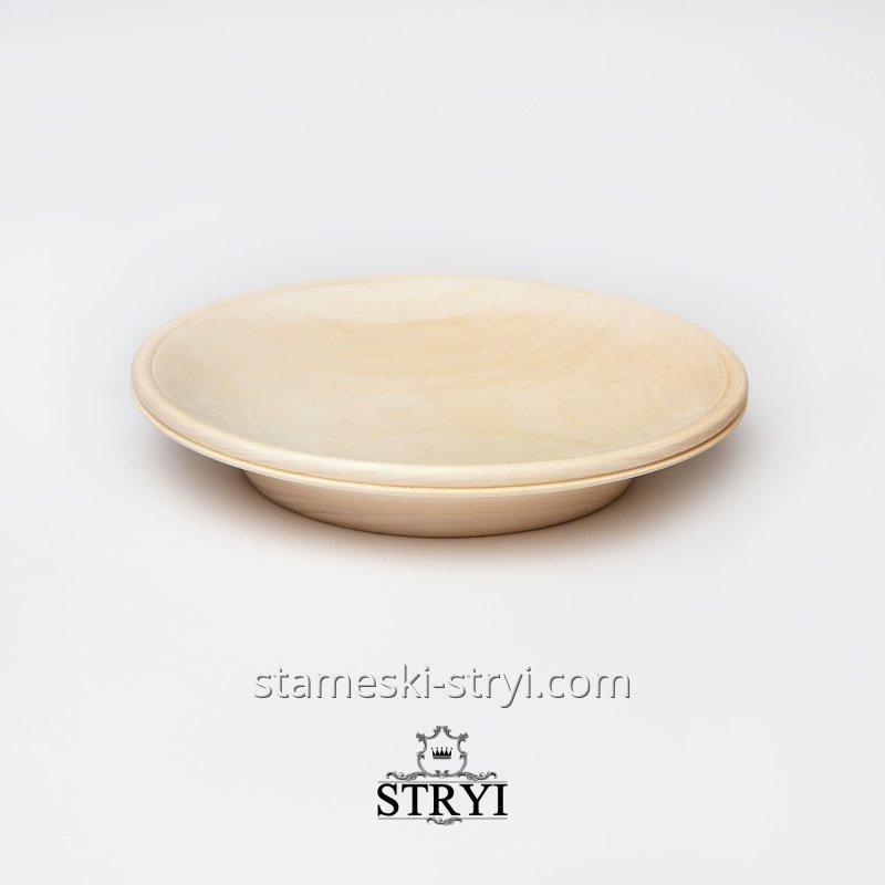 Купить Тарелка, деревянная заготовка под резьбы, дерево липа, 200 мм, арт.LT-20