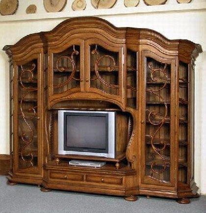 Корпусная мебель из натурального дерева киев