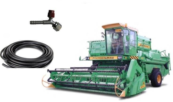 Купить Комплект хладонпроводов шлангов кондиционера комбайна Дон 1500 Б