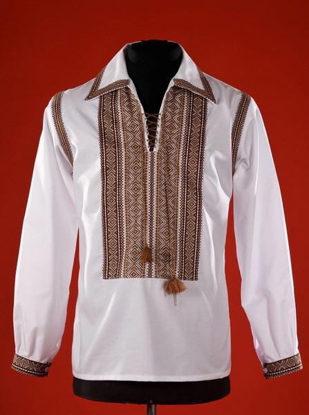 Чоловіча сорочка-вишиванка ЧС 10 купити в Тернопіль c6eff95817452