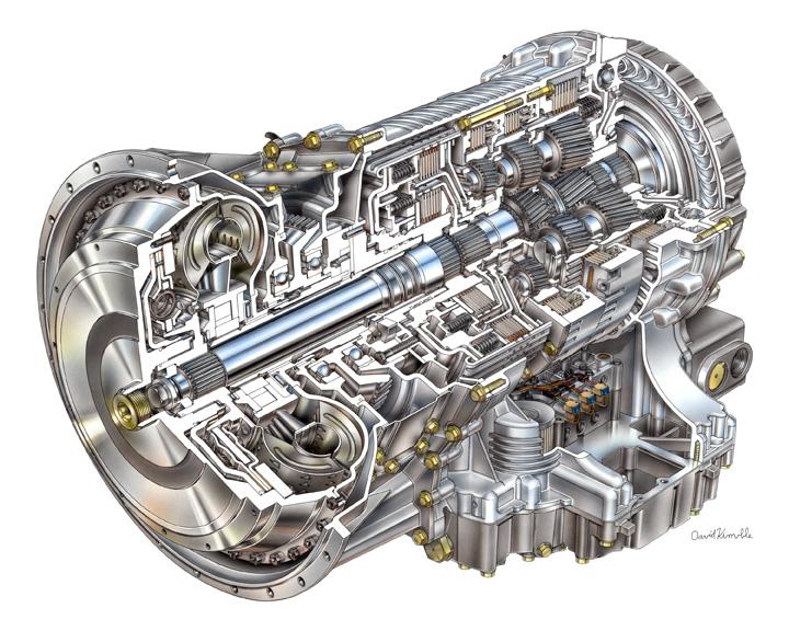 Запчасть для АКПП Allison Transmission Bolt-M14 X 2.0 X40 Lg, 29508413