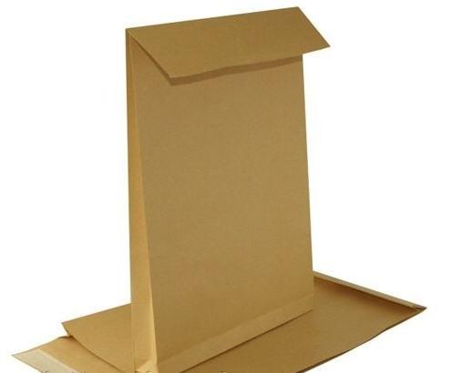 """Купить Бумажный пакет для хлеба типа """"саше"""" 15(2х2,25)х27"""