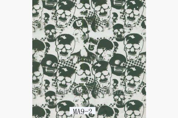 Купить Пленка для аквапечати, черепа (МА9-2)