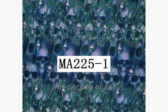 Buy Film for akvapechati, skull (M12281)