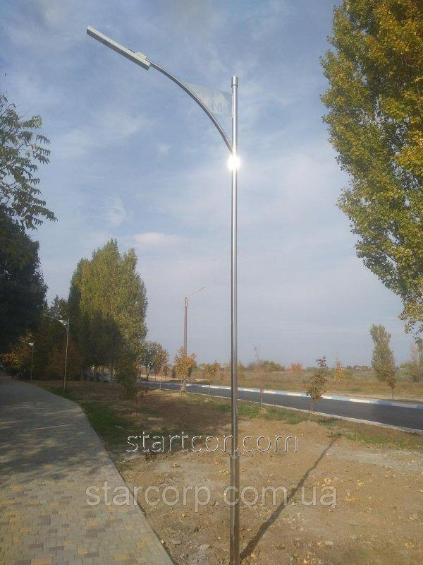 """Buy Lighting poles park """"Odessa"""" with linear LED lamp"""