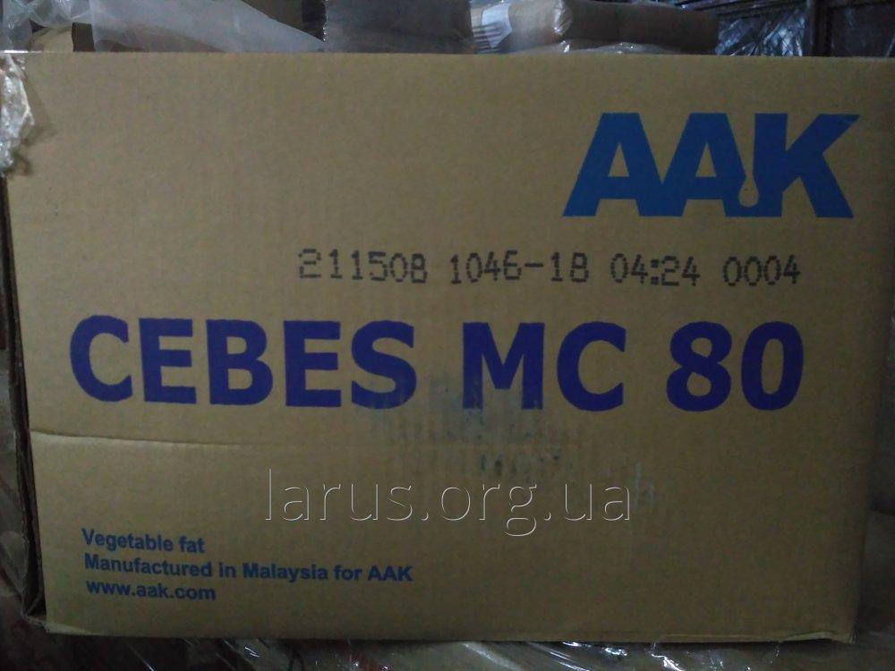 заменитель какао-масла лауриновый CEBES MC 80(CBS), ААК Швеция