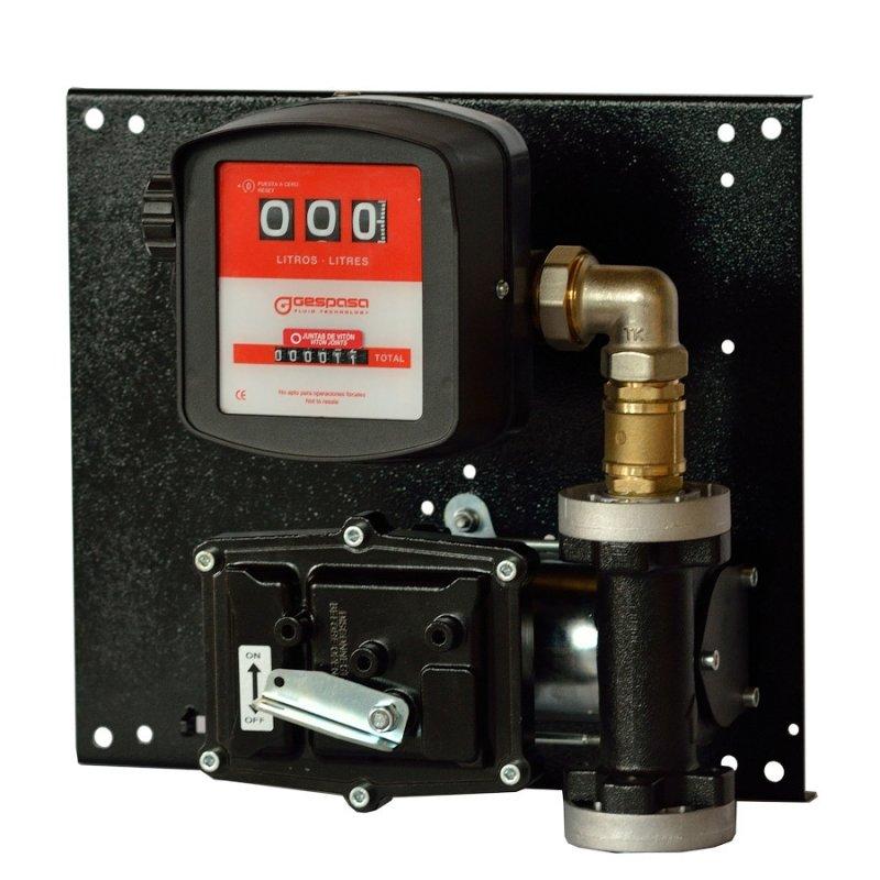 SAP 12-50 - Мобильная заправочная станция для бензина, керосина со счетчиком, 12 В, 45 л/мин
