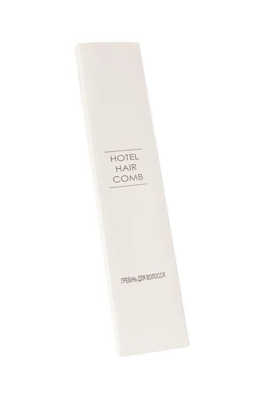 Расческа в картонной упаковке Hotel