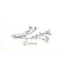 Декор Dec Linum Blanco