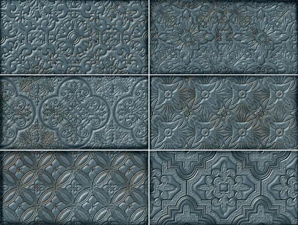 Плитка облицовочная Bestile Dante Decor Ocean (294594)
