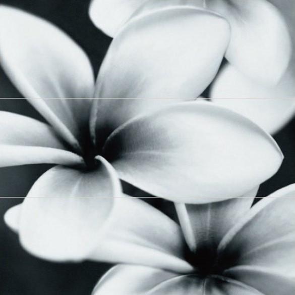 Декор Opoczno Pret-A-Porter Flower Grey Composition 75 Х 75