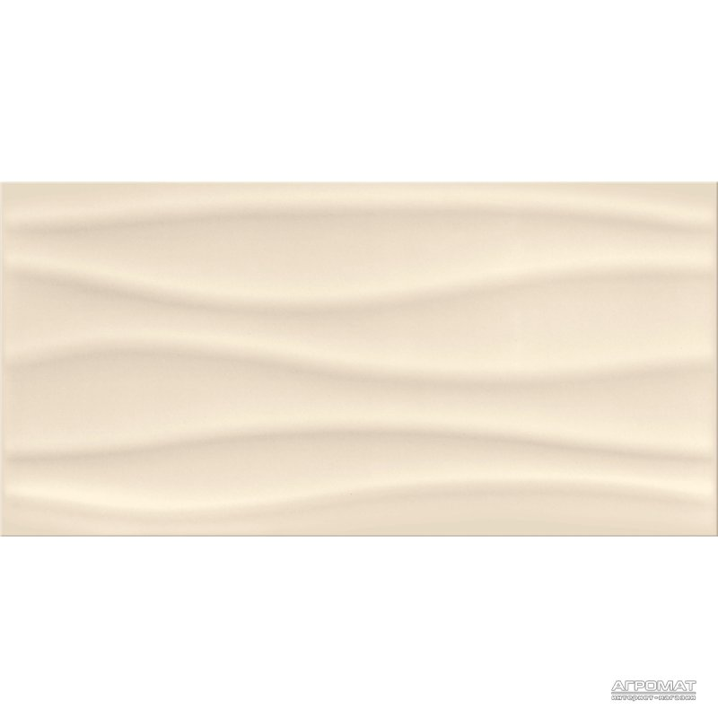 Плитка Opoczno Basic Palette BEIGE WAVE глянец