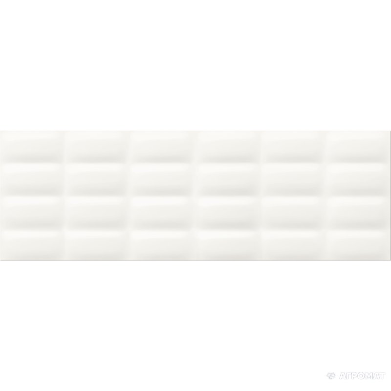 Плитка Opoczno Vivid Colours VIVID WHITE GLOSSY PILLOW