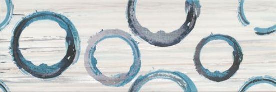Декор Opoczno Artistic Way White Inserto Rings 25 X 75