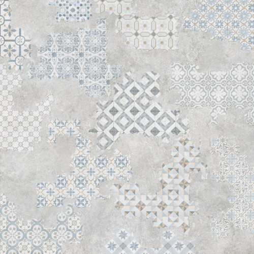Плитка напольная Geotiles Dec Cover Acero Rectified Lappato