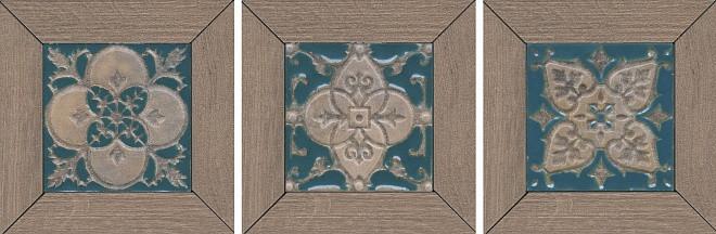 Декор Kerama Marazzi 13Х13Х11 Меранти Пепельный Мозаичный (Id62)