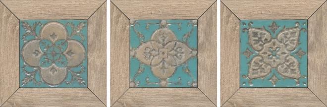Декор Kerama Marazzi 13Х13Х11 Меранти Пепельный светлый Мозаичный (Id61)